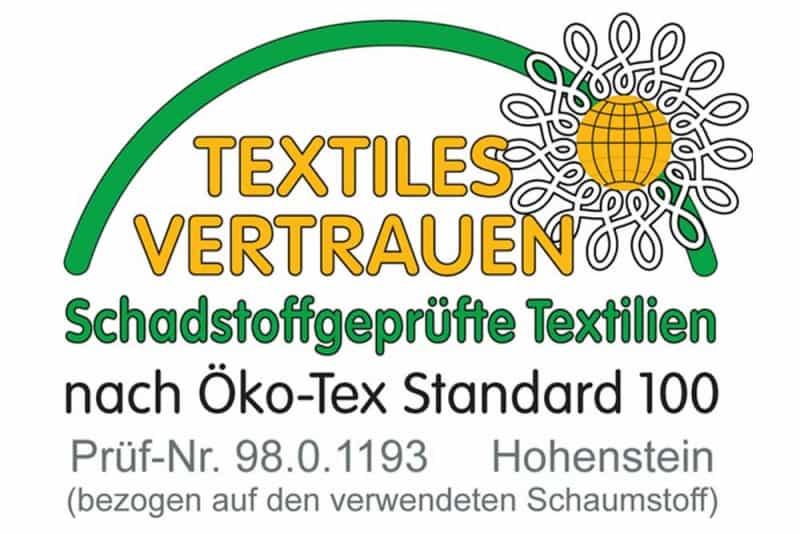Öko-Tex Standard 100 für Schaumstoffe