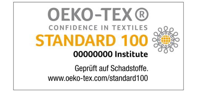 Öko-Tex-Standard 100 für Textilien