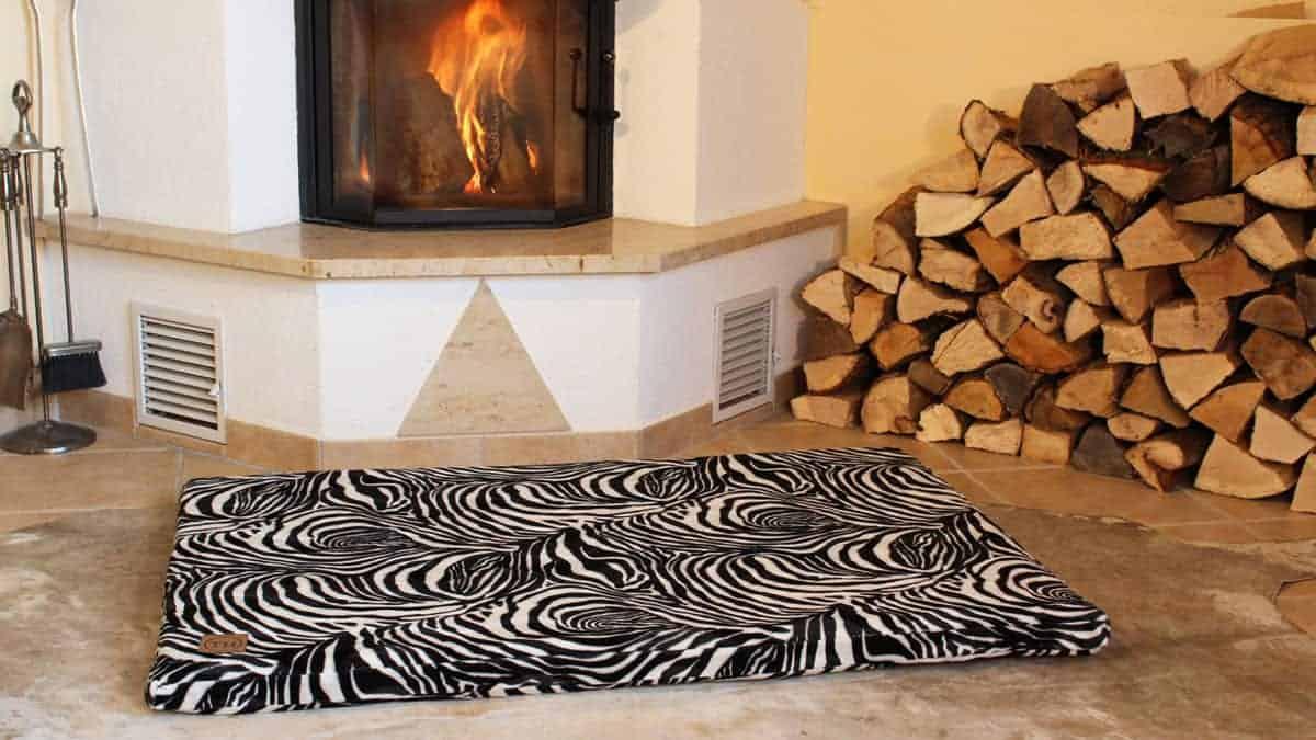 Orthopädische Hundematte Go Wild Zebra