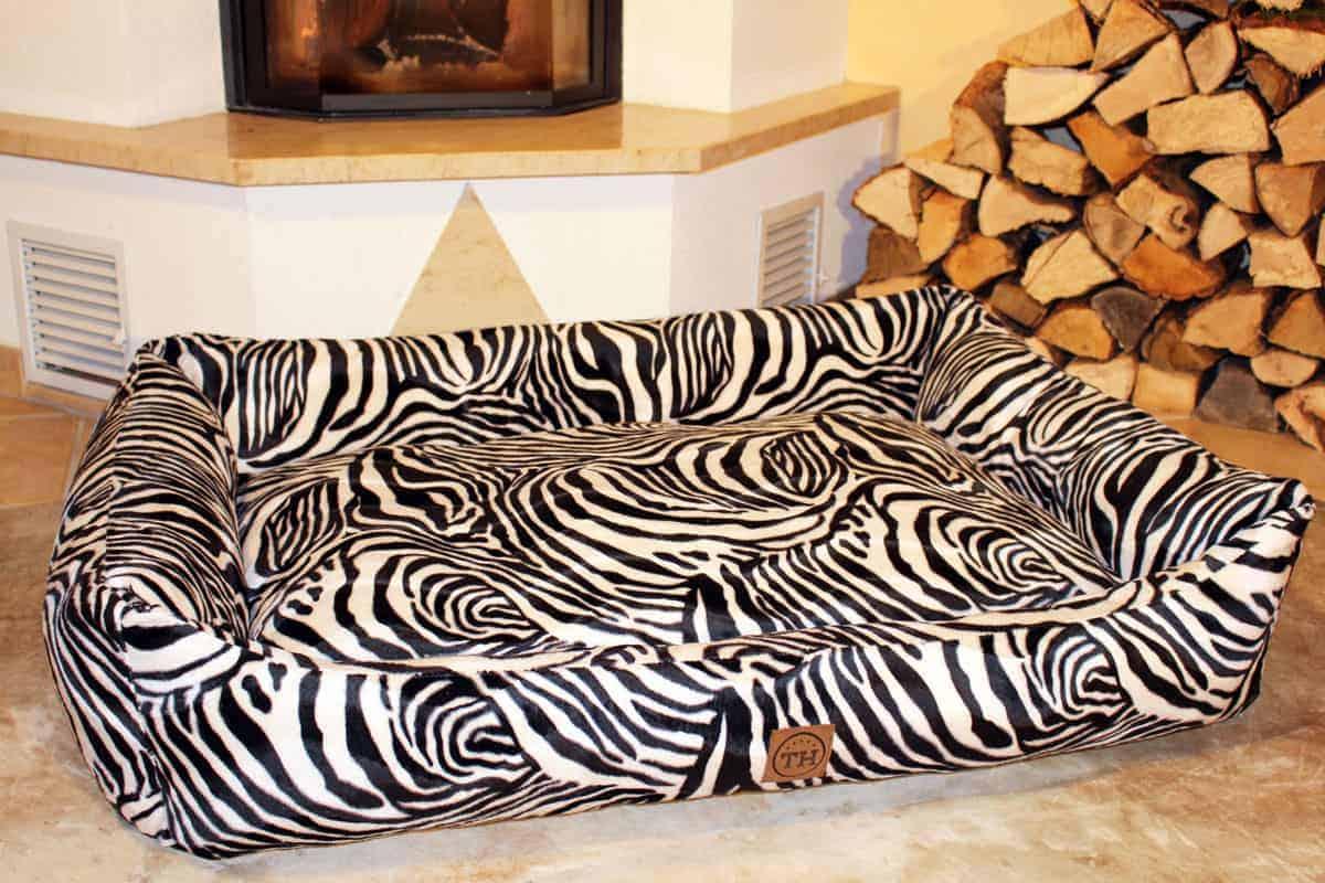 Bezug Go Wild Zebra für Hundebetten