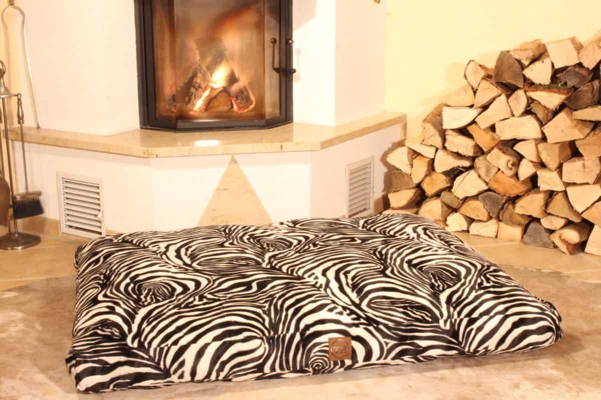 Orthopädisches Hundekissen Go Wild Zebra