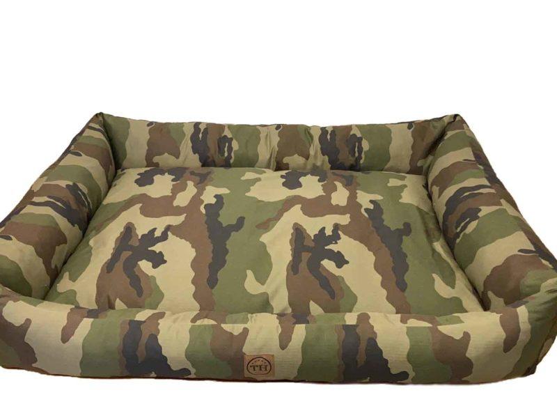 Hundebett Adventure Camouflage freigestellt