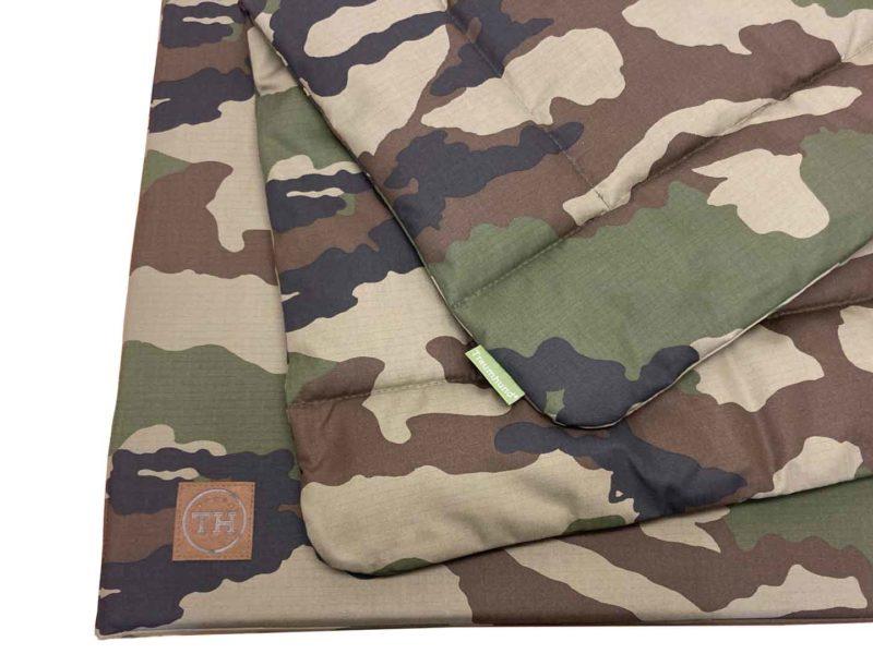 Hundematte und Hundedecke Adventure Camouflage Detail freigestellt